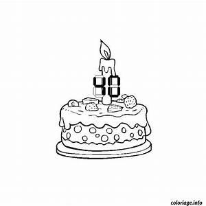 Dessin Gateau Anniversaire : coloriage anniversaire 40 ans dessin ~ Melissatoandfro.com Idées de Décoration