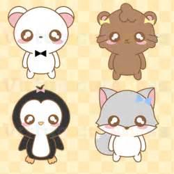 Kawaii Anime Chibi Animals