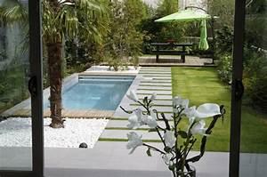 Petit Jardin Moderne : piscine pour petit jardin 20 designs contemporains et peu encombrants ~ Dode.kayakingforconservation.com Idées de Décoration