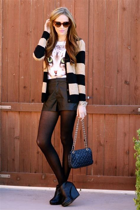 Cute Leather shorts outfits - 30 Ways to Wear Leather Shorts