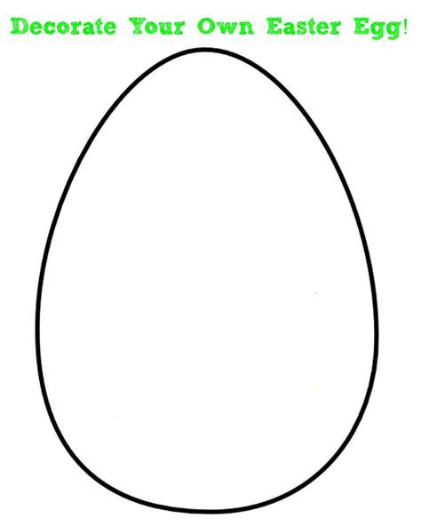 Easter Egg Template Printable Blank Easter Egg Templates Happy Easter 2018