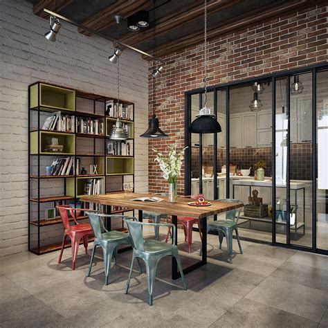 how to decorate industrial style industrial style dining room design the essential guide