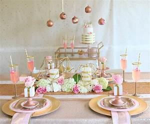 Rose Gold Decor : rose gold wedding ~ Teatrodelosmanantiales.com Idées de Décoration