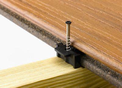 Installing Trex Decking With Screws by Trex Decking Screws Trex Contour Decking