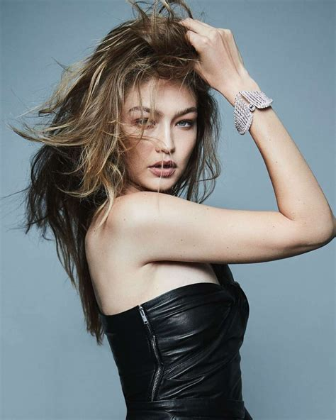 gigi hadid  twin collection messika march