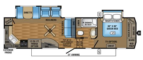 2012 jayco fifth wheel floor plans 2017 eagle fifth wheel floorplans prices jayco inc