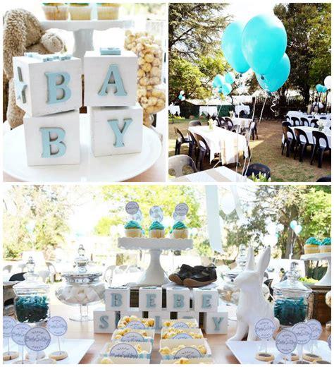 white baby shower ideas kara s party ideas blue white baby shower