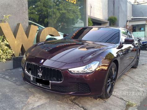 Gambar Mobil Maserati Ghibli by Jual Mobil Maserati Ghibli 2016 M157 3 0 Di Dki Jakarta
