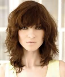 Medium Shag Haircuts Curly Hair