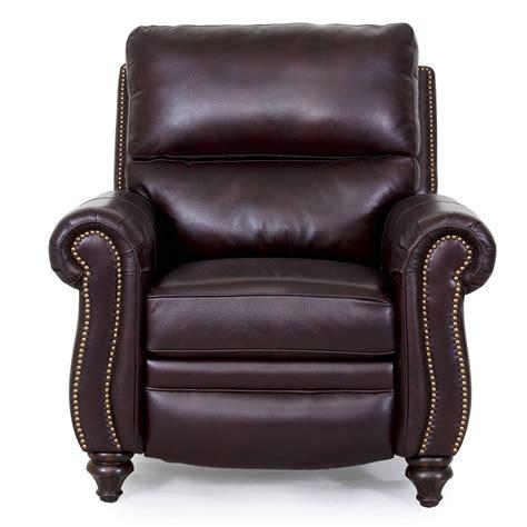 barcalounger dalton ii recliner chair leather recliner