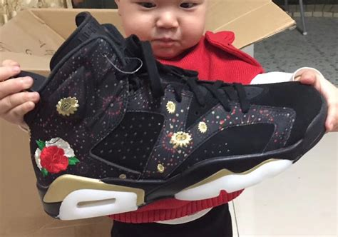 Air Jordan 6 Cny Chinese New Year Release Date  New Jordans 2017