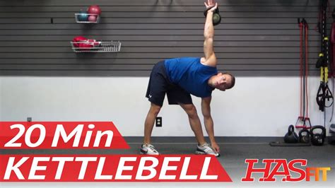 kettlebell workout workouts hasfit kettle training bell exercise minute weight routine strength