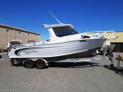 Trailcraft Boats For Sale Gumtree Perth by Trailcraft 8m Hardtop Mrecury 4 Stroke Motorboats