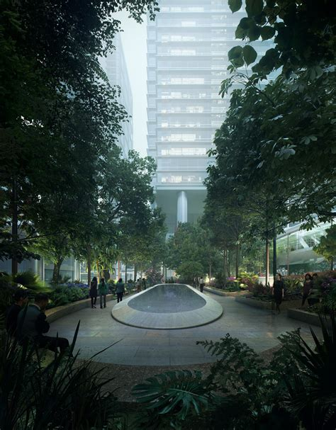 taikoo place gustafson porter bowman archdaily