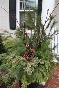 1000 images about Christmas Urn Decorating on Pinterest
