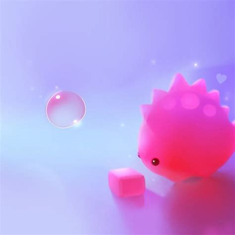 Cute Pink Dino Hd Ipad Wallpaper  Kawaii Pinterest