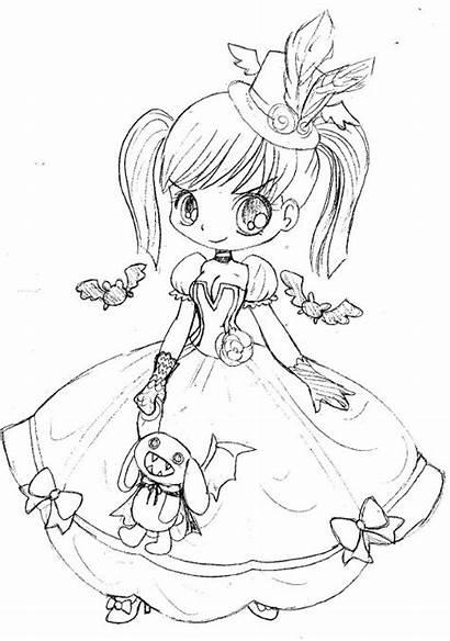 Princess Goth Yampuff Gothic Deviantart Lolita Bunny