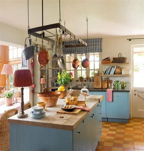 idee cuisine ilot central 1001 designs et conseils pour la cuisine rustique parfaite