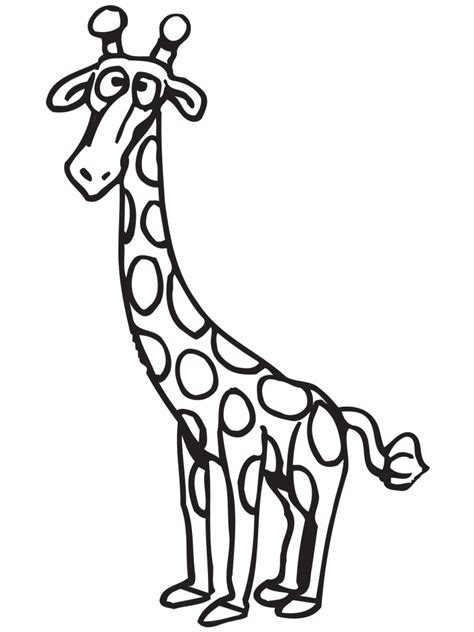 Coloring Jerapah by Giraffe Coloring Pages Realistic Realistic Coloring Pages