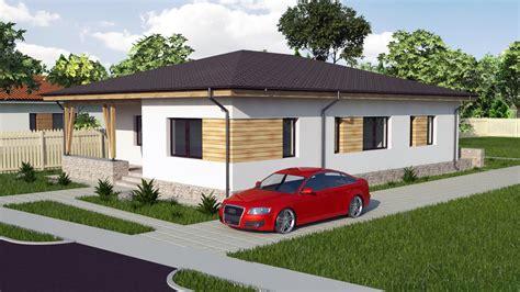 Modern Bungalow House Designs And Floor Plans 3d — Modern
