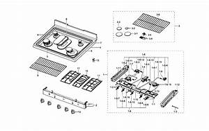 Samsung Gas Range Parts
