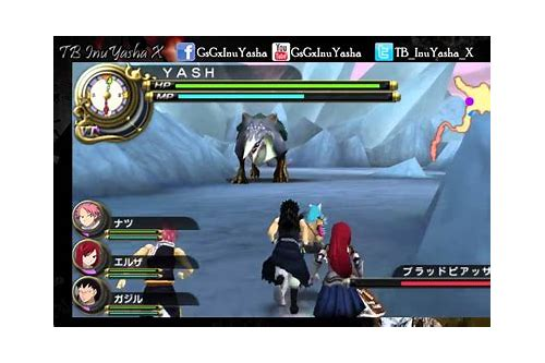 download fairy tail game psp