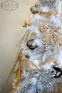 White Gold and Silver Christmas Decor