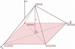 Quadratische Pyramide A Berechnen : aufgabe 1a geometrie ii mathematik abitur bayern 2013 l sung mathelike ~ Themetempest.com Abrechnung