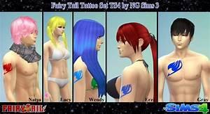 Sims 4 Fairy Tail Tattoo Set