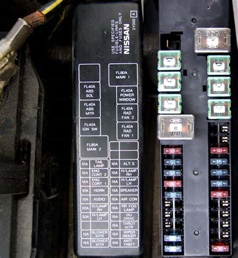 2006 Nissan Maxima Fuse Box Diagram by 2006 Nissan Maxima Fuse Box Diagram Pictures To Pin On