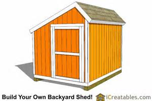 8x10 saltbox shed plans storage shed icreatables