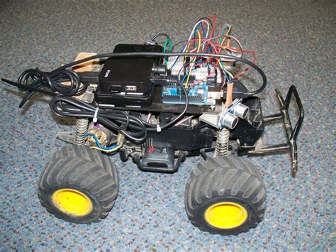 raspberry pi powered rc car labman automation