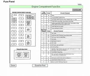 94 F250 Under Hood Fuse Box Diagram