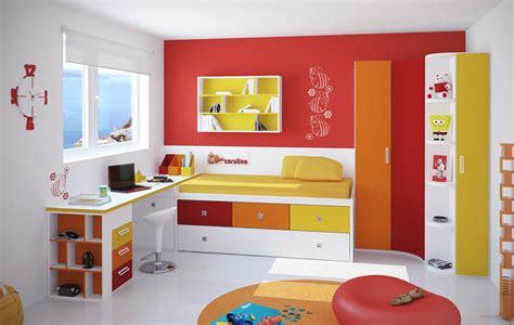 chambres pour enfants des couleurs fraiches et gaies dans une chambre d