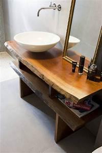 Waschbecken Auf Tisch : die besten 25 waschtisch holz ideen auf pinterest badezimmerideen waschbecken stein und ~ Sanjose-hotels-ca.com Haus und Dekorationen