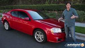 2012 Dodge Avenger Test Drive  U0026 Car Review