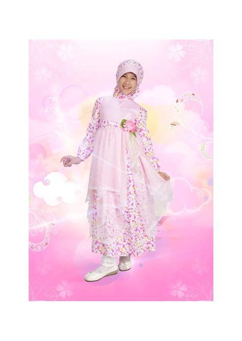 desain baju gamis anak modern xarzo