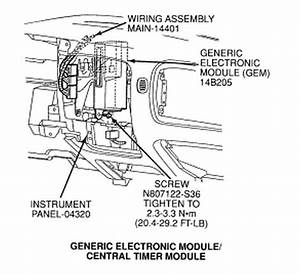 1996 Ford Ranger Control Module Location  1996  Free Engine Image For User Manual Download