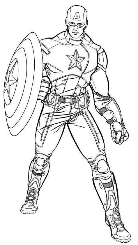 captain america coloring pages bell rehwoldtcom