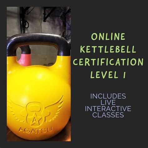 agatsu kettlebell kettlebells certification category