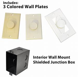 Pylehome - Pvckt5 - Tools And Meters - Wall Plates