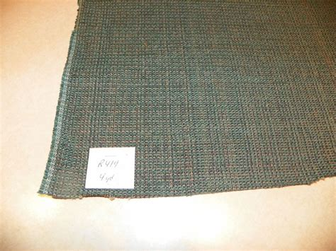 Tweed Fabric For Upholstery by Blue Green Tweed Upholstery Fabric 1 Yard R419 Ebay