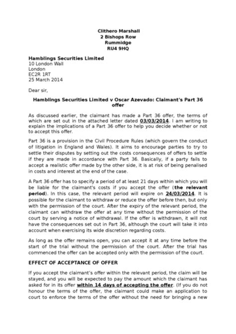 pre protocol letter template pre letter to tenant and guarantor rent arrears pre protocol letter to ministry