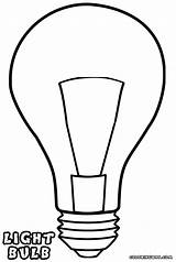 Light Lightbulb Bulb Coloring Template Pages Drawing Bulbs Print Clipart Clip Colorings Sketch Clipartmag Getdrawings sketch template