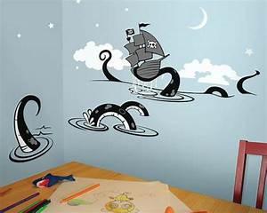 Piraten Kinderzimmer Gestalten : kinderzimmerw nde gestalten reisen sie durch die kinderwelt ~ Lizthompson.info Haus und Dekorationen
