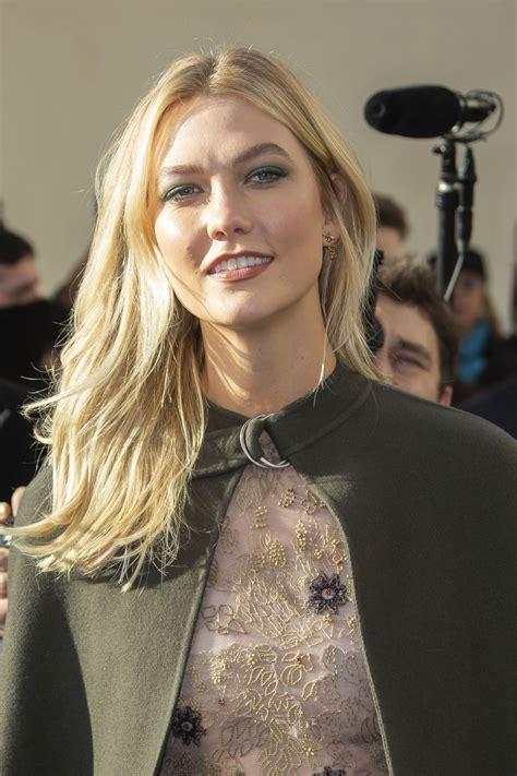 Karlie Kloss Christian Dior Show Paris Fashion Week