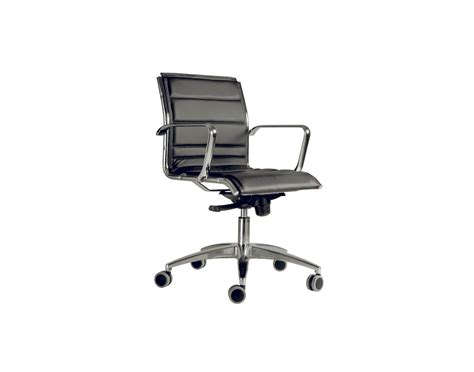 classic leather office chair castor base