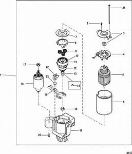 Mercruiser 3 0l Gm 181 I    L4 Starter Motor  Pg260f1  Parts