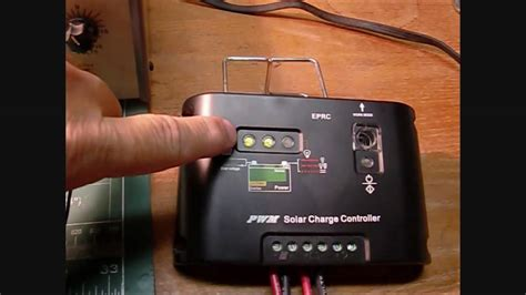 solar panel charge controller bench test youtube
