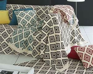 jete de canape jete de fauteuil becquet With tapis de marche avec fouta jeté de canapé